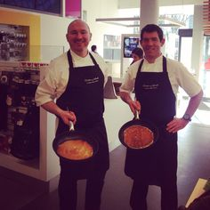 Niall and Brian from James Street South called in to give us some pancake tossing tips for Pancake Tuesday. Brian will be in #VisitBelfast Welcome Centre making pancakes on Shrove Tuesday 4th March 2014.
