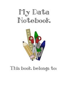 Love Two Teach: DATA NOTEBOOKS FOR FIRST GRADE!!!!