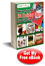 34 Holiday Ideas for Gifts in a Jar - this is a great ebook for anyone who loves to create their own gifts for the holidays