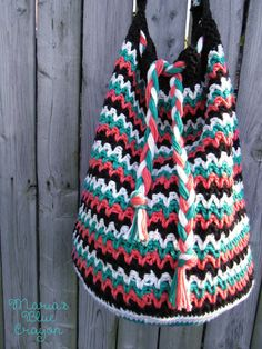 The Roxy Bag - Crochet Pattern - Maria's Blue Crayon