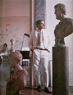A Tribute to Cy Twombly: His Home in Vogue, 1966