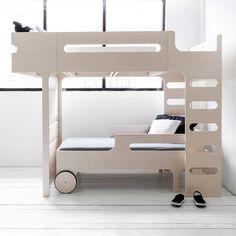 F+&+R+DESIGNER+KIDS+BUNK+BED+in+Whitewash