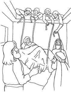 David And Goliath Coloring Pages Picture 11
