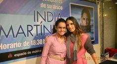 "♫  ♪Blog de India Martinez  ♪ ♫: ""Gracias India Martínez por Lorena Soriano"""