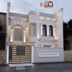 Most 50 Beautiful House Design For 2020 - Engineering Discoveries Modern Exterior House Designs, Classic House Exterior, Best Modern House Design, Classic House Design, Modern House Facades, Two Story House Design, Bungalow House Design, House Outside Design, House Front Design