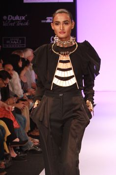 Industrial modern jewelry by Indian designer Suhani Pittie. Edgy and strong!