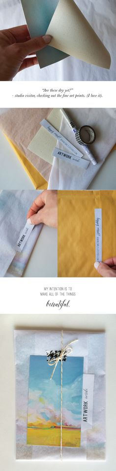 Artwork Packaging: Emily Jeffords Studio