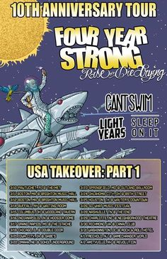"""Rise Or Die Trying"" 10 Year Anniversary Tour Part 1 