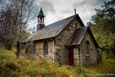 Old Kirk in Perthshire countryside