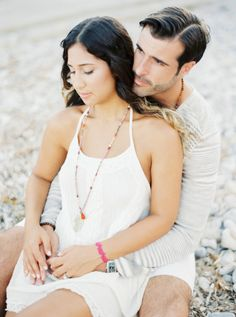 Ibiza e-sesh: http://www.stylemepretty.com/destination-weddings/2015/09/09/romantic-spanish-sunset-engagement-session-in-ibiza/ | Photography: Ana Lui - http://www.analuiphotography.com/