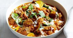 Comfort food made healthy with this low calorie, low fat, gluten-free, beef and pumpkin curry.