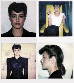Photography by SEAN YOUNG Polaroïds—Blade Runner