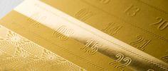manhãs perfeitas: Golden Calendar :: Design para todos #19