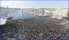 Estiman unas 700 mil personas  marchan en Francia contra el terror