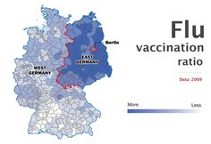 Germany divided - vaccination