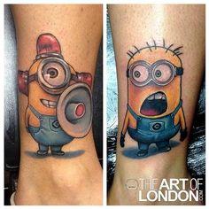 12 Super Cute & Adorable Minion Tattoos