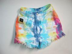 tie dye shorts!
