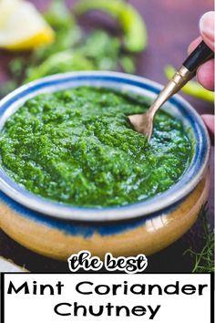 Coriander Chutney Recipe, Chutney Recipes, Indian Snacks, Indian Food Recipes, Asian Recipes, Middle Eastern Recipes, Okra, Popular Recipes, Vegetable Dishes