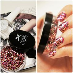 ciate nails : Perfect Sequinned mani