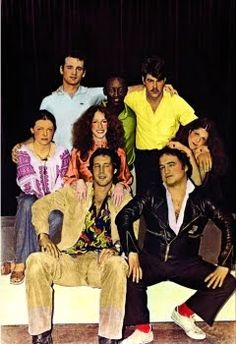Saturday Night Live.  The old cast.  I wasn't allowed to watch this but I would sneak and watch anyway.  lol