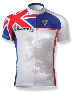 Cycling Clothing Cycling Clothing New Design Olympics Type Mens Cycling Short Sleeve Jerseys for England Lion