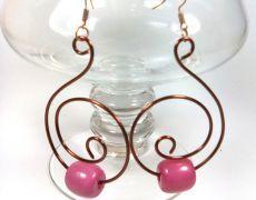Cercei Purple Rain -sarma de cupru/ margele Purple Rain, Handmade Jewelry, Drop Earrings, Fashion, Moda, Handmade Jewellery, Fashion Styles, Jewellery Making, Drop Earring