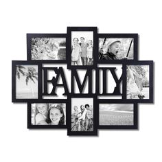 "Furnistar ""Family"" 8 Opening Collage Picture Frame"