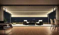 Lange Nacht: Mit einer Markise verlängern wir das Wohnzimmer-Feeling auf der Terrasse bis tief in die Nacht: Dank integrierter Wärmestrahler und indirekter Beleuchtung.