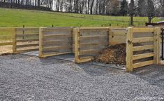 Aerated Composting Systems & Bins - Farm and Equine - Maryland Horse Arena, Horse Stables, Farm Fence, Farm Yard, Horse Barn Designs, Horse Manure, Horse Barn Plans, The Ranch, Ranch Farm
