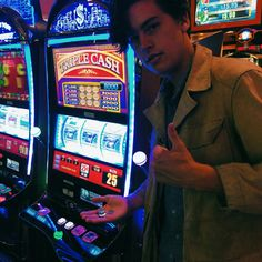 "Cole Sprouse 2016 - "" Won big $$$ in Vegas."" Hes so cute wtf. @starrybeauty"