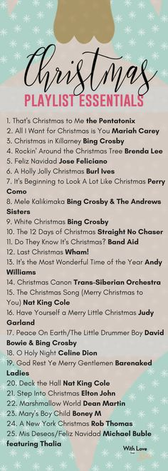 Christmas Songs to Listen to as you Deck the Halls These are the Christmas you absolutely need to add to your playlist!These are the Christmas you absolutely need to add to your playlist! Christmas Mood, Merry Little Christmas, All Things Christmas, Holiday Mood, Christmas To Do List, Office Christmas, Best Christmas Gifts, Christmas Design, Christmas Christmas