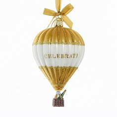 Champagne Christmas Tree, Hot Air Balloon, Balloons, Gems, Christmas Ornaments, Amazon, Bottle, Holiday Decor, Home Decor