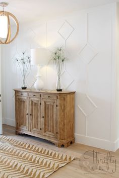 Cute idea for entry way -plus lots of other home decor ideas