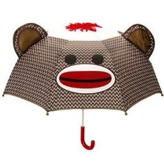 sock monkey umbrella - for my daughter ;)