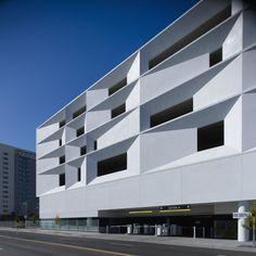 White Concrete Facade