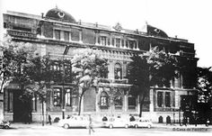 El Palacio de Villapadierna - IES Beatriz Galindo en la Calle Goya, 10. Demolido en 1966.
