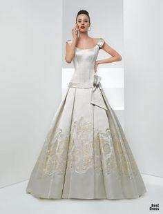 Vestidos de Noiva Coloridos - Inspirações   O teu Casamento de Sonho