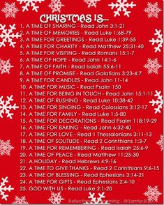 Scripture readings for Christmas: