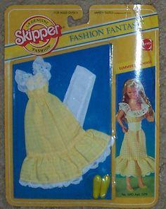 Skipper fashion fantasy, summer sunshine (1982) #5813.