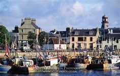 Stornoway Harbor-SCOTLAND