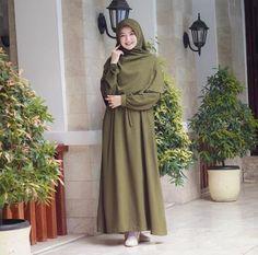 Hijab Style Dress, Modest Fashion Hijab, Casual Hijab Outfit, Hijab Chic, Muslim Fashion, Modest Outfits, Fashion Outfits, Muslim Hijab, Muslim Dress