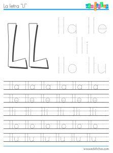 silabas con ll