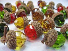 acorn beads