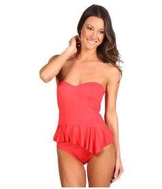 bandeau swimsuit, women's swimwear