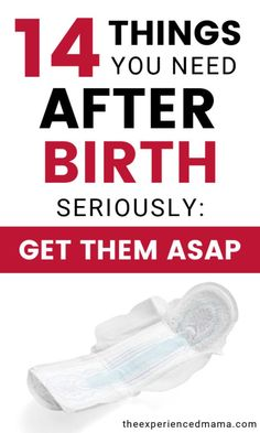 After Birth Care Kit: Everything you absolutely need for postpartum recovery - you do NOT want to forget to buy these 14 things (you don't want your husband to have to go buy them for you -for real) Postpartum Care, Postpartum Recovery, Pregnancy Advice, First Pregnancy, Body After Baby, After Birth, Newborn Care, Breastfeeding Tips, Baby Care