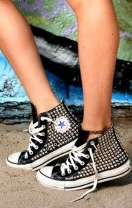 50 Best studded converse images  6d7a437256837