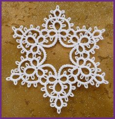 Tatted Star by Murphys Designs (not really tatting, but could certainly be adapted to real tatting) by Collien Kaseberg