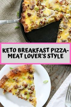 Our Keto breakfast Pizza is made with the popular fathead recipe, a gluten free dough that is easy to make and a fraction of the carbs! Breakfast Pizza, Low Carb Breakfast, Breakfast Recipes, Breakfast Ideas, Breakfast Muffins, Brunch Ideas, Low Carb Dinner Recipes, Diet Recipes, Healthy Recipes