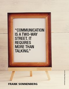 """Communication is a two-way street. It requires more than talking. Favorite Quotes, Best Quotes, Street Quotes, Two Way Street, Personal Growth Quotes, Meaningful Conversations, Making Connections, Improve Mental Health, New Friendship"