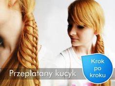 Fryzura z przeplatanym kucykiem krok po kroku - Wizaz.pl